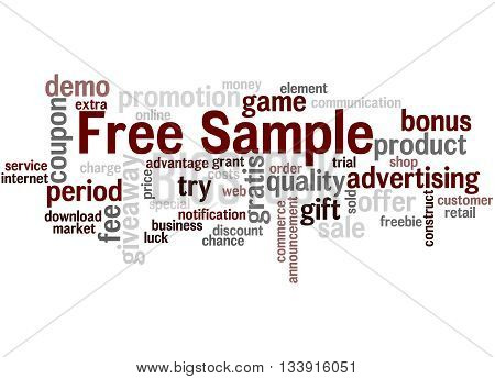 Free Sample, Word Cloud Concept 5