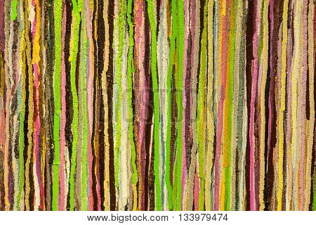 streaks of paint on the wall multicolors art background