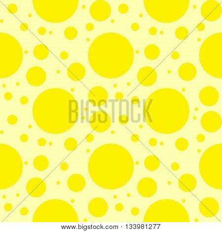 Abstract Geometric Circles Seamless Pattern.