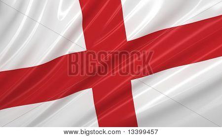 flag of England. flag series.