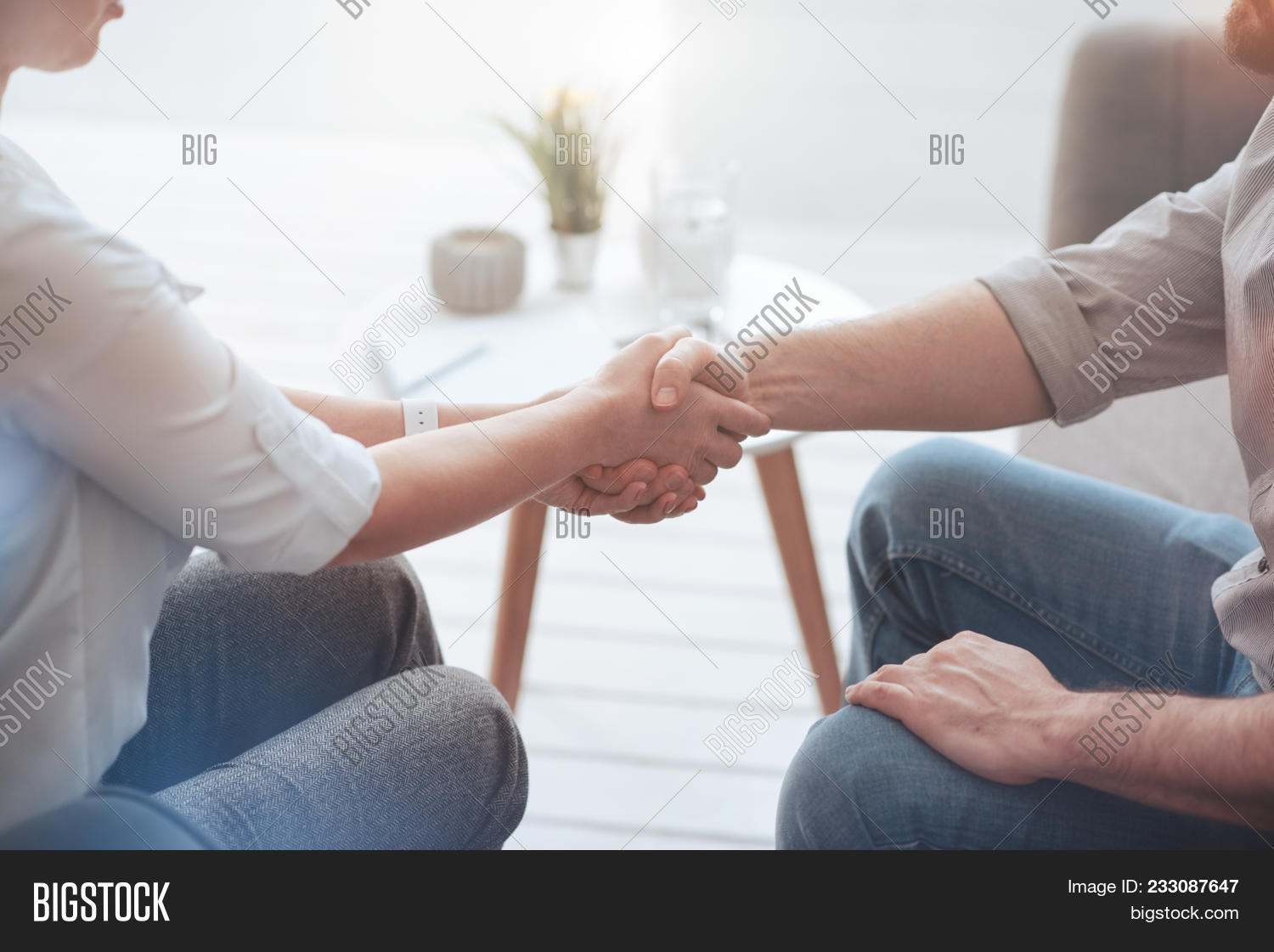 First Meeting Image Photo Free Trial Bigstock