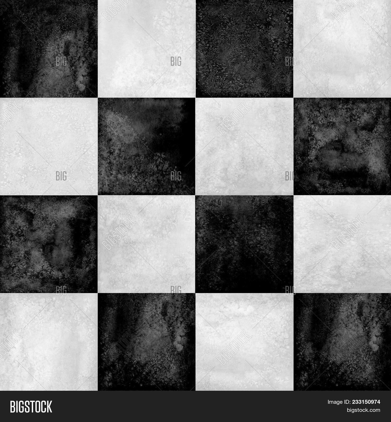 Black White Checkered Image Photo Free Trial Bigstock