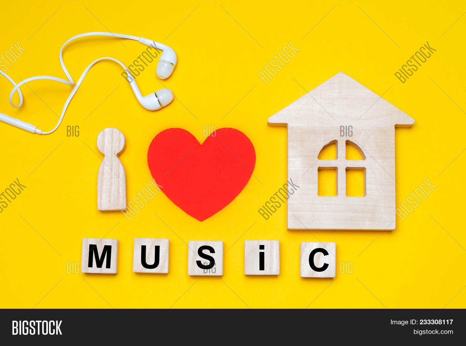 Love House Music Image Photo Free Trial Bigstock