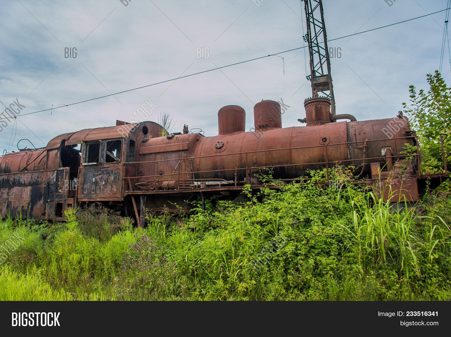 Abandoned Train. Image & Photo (Free Trial)