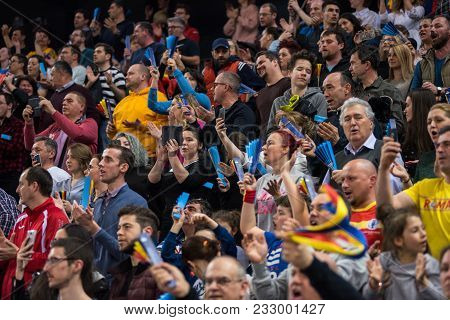 Crowd Of People At Sport Event