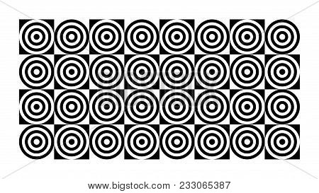 Fashionable Geometric Chess Background For Interior, Design, Advertising, Cover, Walls, Printing. Ve