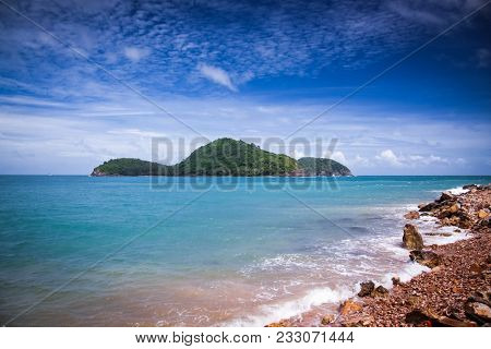 nam Du Islands, Kien Giang, Vietnam. Nam Du is a popular tourist attraction among Vietnamese people. Foreigners are only allowed on the island with a permit.