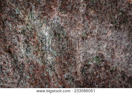 Wild Marble Stone Surface Texture, As Abstract Geologic Background, Macro Photo