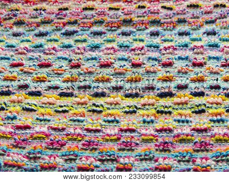 Striped Colorful Multicolored Cheerful Background, Wallpaper, Texture