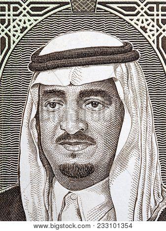 Salman Of Saudi Arabia Portrait From Saudi Arabian Money