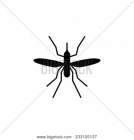 Mosquito Icon. Elements Of Insect Icon. Premium Quality Graphic Design. Signs And Symbol Collection