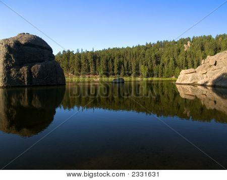 Water Between Stones
