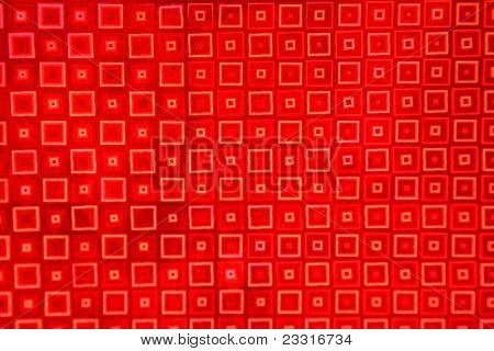 Abstract Red Foil Background