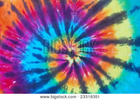Bright Color Tie Dye