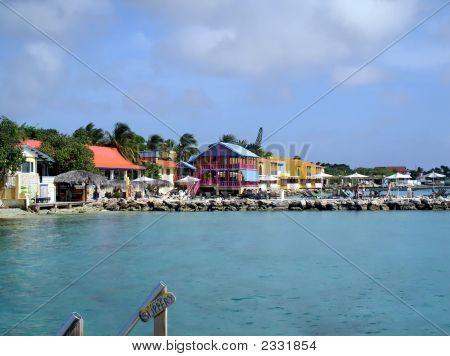 A Colorful Resort In Bonaire