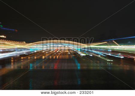 Blurred Bridge