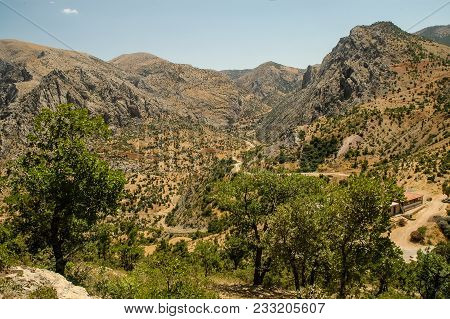 Arid Landscape. Northern Kurdistan, Turkey