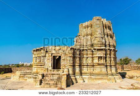 Adbhutanatha Temple At Chittorgarh Fort. Unesco World Heritage Site In Rajastan State Of India