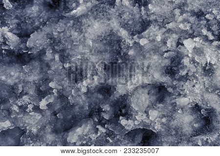 Abstract Ice Texture Background. Ice Background. Blue Frozen Texture. Detailed Ice Texture. Abstract