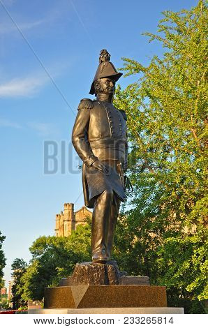 Ottawa, Canada - Jun. 19, 2011: Statue Of John By In Major`s Hill Park In Downtown Ottawa, Canada. J