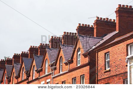 Roof Of Townhouse