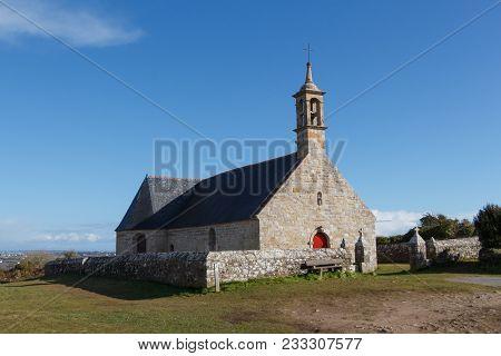 Outdoor Of Notre Dame De Bon Voyage Chapel In Plogoff