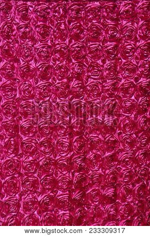 hot pink rose pattern drapes.  seamless background