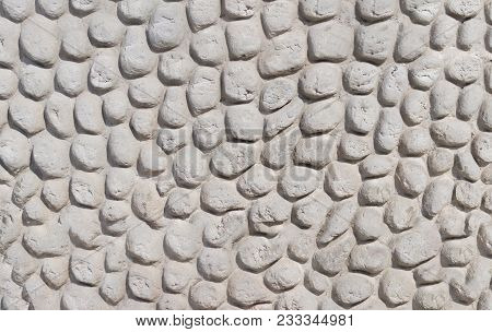 Abstract Stone Background With Reliefs.background With Deep Reliefs And With Lines Pattern Of A Hard
