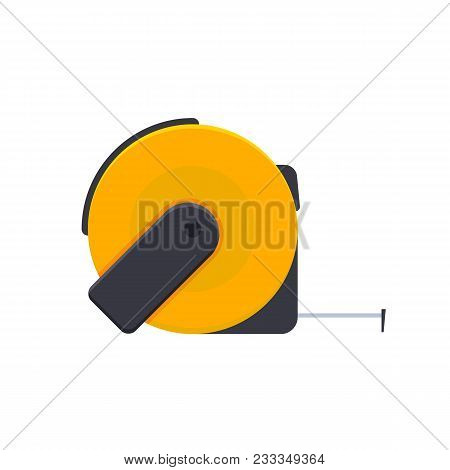 Measuring Tape With Divisions, Measuring Tape, For Objects, Distances, Length, Intended For Builders