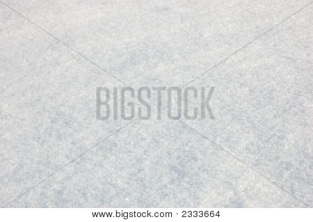 Clear Snow Field Background