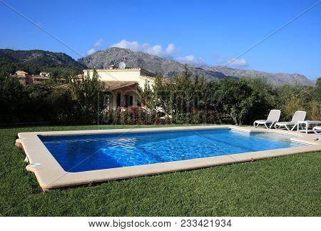 Finca House With Swimming Pool Near Pollensa. Majorca. Spain