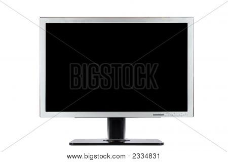 Computer flache Breitbild