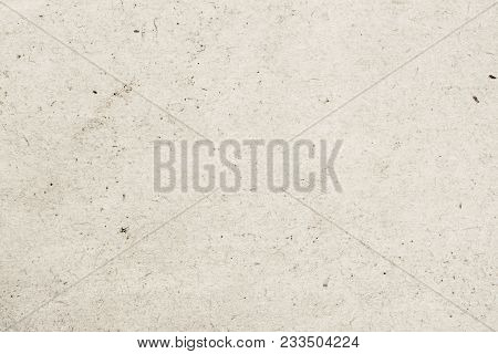 Texture Of Old Organic Light Cream Paper With Wrinkles, Background For Design With Copy Space Text O