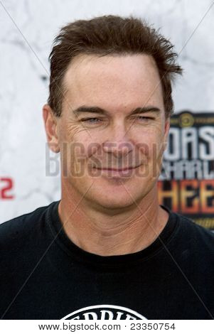 CULVER CITY, CA - SEPT. 10: Patrick Warburton arrives at the Comedy Central Roast of Charlie Sheen at Sony Studios on Sept. 10, 2011 in Culver City, CA.