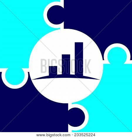 Business Strategy Alliance Logo Design Template Isolated Vector