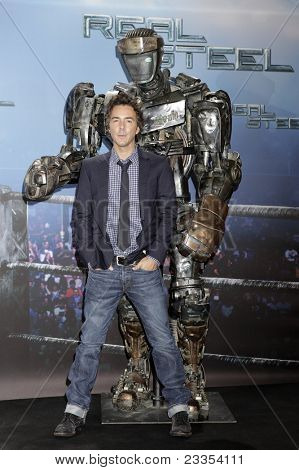 MUNICH - SEPT 12: Shawn Levy at the Real Steel photocall at Hotel Bayerischer Hof on September 12, 2011 in Munich, Germany