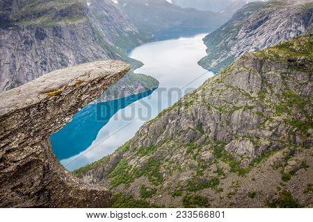 Norway Mountain Trolltunga Odda Fjord Norge Hiking Trail