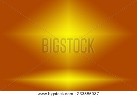 Abstract Luxury Dark Brown And Brown Gradient With Border Brown Vignette, Studio Backdrop - Well Use