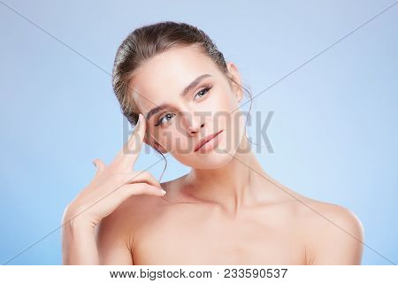 Portrait Of Thoughtful Woman