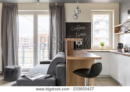 Kitchen And Living Room Combined