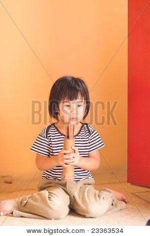 Asian Girl Predicting With Risk Futune