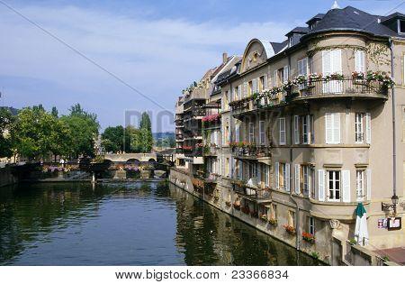 Metz Town, Lorraine, France