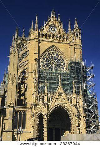 Cathedral St Etienne, Metz, Lorraine, France