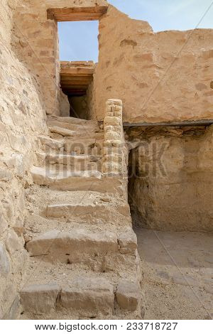 Old Staircase Leading To The Monastery Of Saint Paul The Anchorite (aka Monastery Of The Tigers), Eg