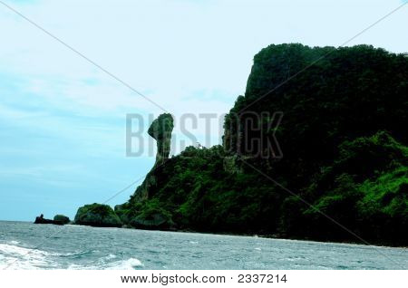 Chicken Island In The Phi Phi Isles Thailand