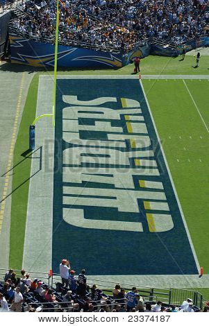 Chargers Touchdown Zone
