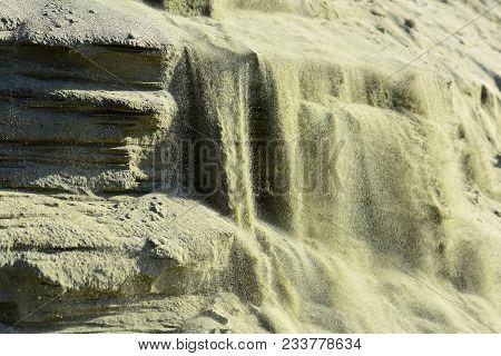 Ecology, Geology, Sand Layers. Ecology, Ecosystem, Environment, Nature, Landscape.