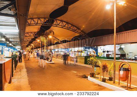 Fair Known As Feira Central De Campo Grande