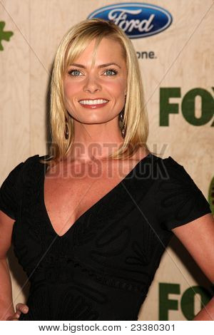 LOS ANGELES - SEP 12:  Jaime Pressly arriving at the 7th Annual Fox Fall Eco-Casino Party at The Bookbindery on September 12, 2011 in Culver City, CA