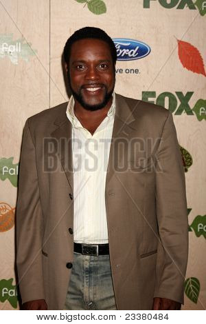 LOS ANGELES - SEP 12:  Chad Coleman arriving at the 7th Annual Fox Fall Eco-Casino Party at The Bookbindery on September 12, 2011 in Culver City, CA